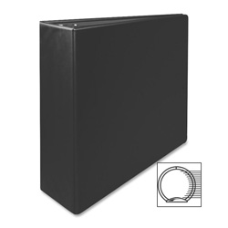 "Sparco 78% Recycled 3 Ring Binder, 3"" Capacity, Black"