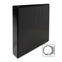 "Sparco Vue 1 1/2"" View Binder, Black"