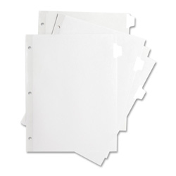 Sparco 12-Tab Indexed Sheet Dividers, White