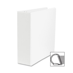 "Sparco Slant 3"" View Binder, White"