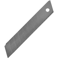 Sparco replacement blade, for knives with snap off blades, 18 mm, silver