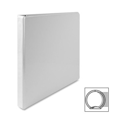 "Sparco Vue 1/2"" View Binder, White"