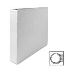 "Sparco Vue 1 1/2"" View Binder, White"