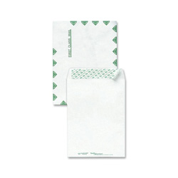 "Sparco Open End Envelope, First Class, 9""x12"", White"