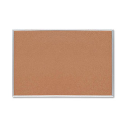 Sparco 1.5ft x 2ft - Cork Surface - Aluminum Frame