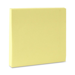 "Sparco Adhesive Notes, 3""x3"", Yellow"
