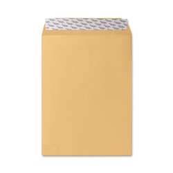 "Sparco Self Sealing Envelope, Plain, 28Lb, 9""x12"", 250/BX, Kraft"