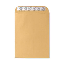 "Sparco Self Sealing Envelope, Plain, 28Lb, 10""x13"", 250/BX, Kraft"