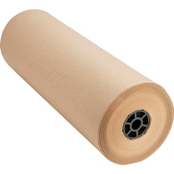 "Sparco Bulk Wrapping Paper, 24""Wx1050', 8 1/2"" Diameter, Kraft"