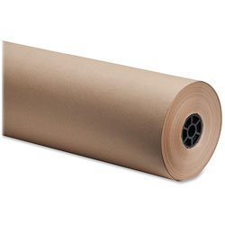 "Sparco Bulk Wrapping Paper, 36""Wx800', 8 1/2"" Diameter, Kraft"