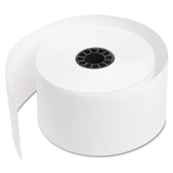 "Sparco Bulk Cash Register Roll, 44mm, 1 3/4"", 155' Long, White"