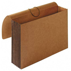 "Sparco Accordion Wallets, Letter, 5 1/4"" Exp, 12 3/8""x10"", Brown"