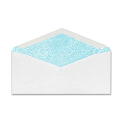 "Sparco Commercial Envelopes, Security Tint, Win, No10, 4-1/8"" x 9-1/2"", White"