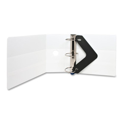 "Sparco Locking 5"" View Binder, White"