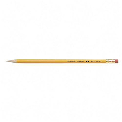 Sparco # 2 Wood Case Pencils, Soft Lead, 72 Count