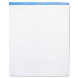"Sparco Standard Easel Pad, 1"" Ruled, 27""x34"", 40 sheets, 4/CT, White"