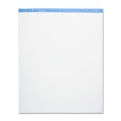 "Sparco Standard Easel Pad, Plain, 27""x34"", 50 Sheets, 2/CT, White"