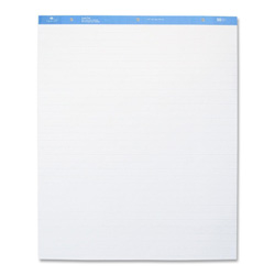 "Sparco Standard Easel Pad, 1"" Ruled, 27""x34"", 50 sheets, 2/CT, White"