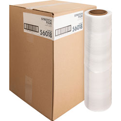 "Sparco Stretch Wrap Film, 18""x1500' Roll, Heavyweight, Clear"