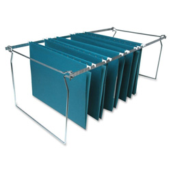 Sparco Stainless Steel Hanging File Folder Frames, Letter