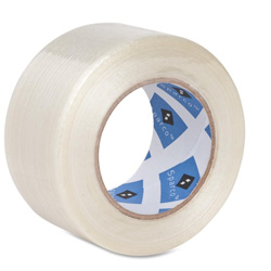 "Sparco Filament Tape, 2""x60Yards, White"