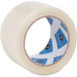 "Sparco Packaging Tape, 3"" Core, 2"" x 55 Yards, Clear"