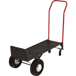 "Sparco Convertible Hand Truck withDeck, 21"" x 18"" x 47"", 800 lb. Capacity"