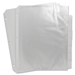 Sparco Top Loading Sheet Protector, Clear
