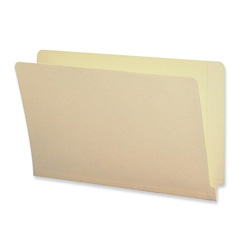 Sparco End Tab Folder with 2-Ply Straight Tab, Legal size, 100/Box