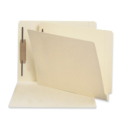 Sparco Fastener Folder with 2-Ply Tab, 11pt, Position 1, Letter, 50/Box, MA