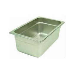 Thunder Group Stainless Steel Steamtable Pan 1/6