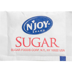 N'Joy Pure Cane Sugar Packets, 1/10 Oz Packets