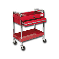 Sunex Deluxe Service Cart w/Locking Top and Drawer