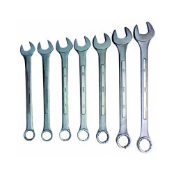 Sunex 7 Piece SAE Jumbo Combination Wrench Set