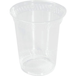 Savannah Supplies 12 Oz Cold Plastic Cups, Clear, Pack of 50