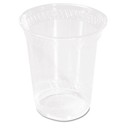 Savannah Supplies 10 Oz Cold Plastic Cups, Clear, Pack of 50