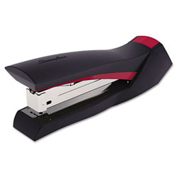 Swingline Modern Grip Stapler, 20 Sheet Capacity, Red
