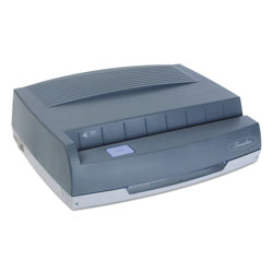 "Swingline Gray Medium Duty Electric Hole Punch, 3 HP, 13"" x 10 5/8"" x 4"""