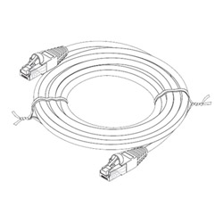 Steren Patch Cable - 3 Ft