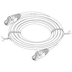 Steren Fast Media Patch Cable - 7 Ft