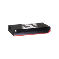 CP TECH LevelOne GSW-0507 - Switch - 5 Ports
