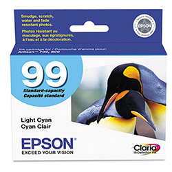 Epson T099520 99 Light Cyan Ink Cartridge