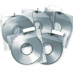 Tabbies CD Saver Protective Sleeves, 25/Pack, Clear