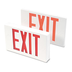 Tatco LED Exit Sign with Battery Back Up