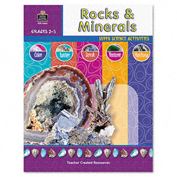 Teacher Created Resources Resources Super Science Activities, Rocks & Minerals, Grades 2-5