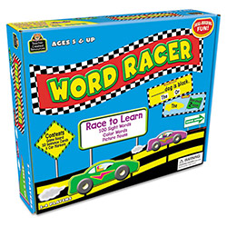 Teacher Created Resources Word Racer Game, Ages 5 & Up, 2-4 Players