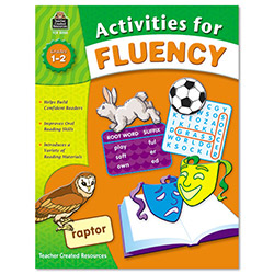 Teacher Created Resources Activities For Fluency, Grades 1 - 2