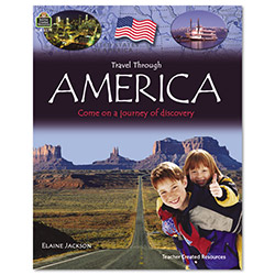 Teacher Created Resources Travel Through Set 1, 6 Books, Grades 3 - 12