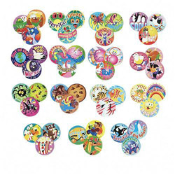 Trend Enterprises Stinky Stickers Super Saver Variety Pack, 465 Large Round