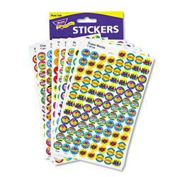 Trend Enterprises superSpots and superShapes Sticker Variety Packs